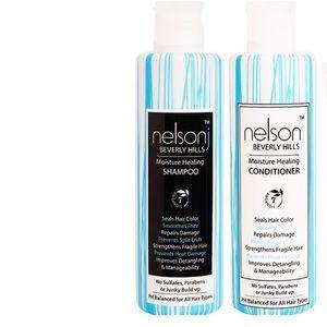 NelsonJ BH Moisture Healing Shampoo & Conditioner
